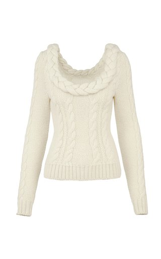 Revelation Cable-Knit Sweater