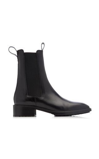 Simone Leather Chelsea Boots