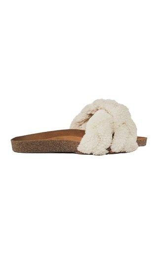 Logical Fantasy Wool Slides