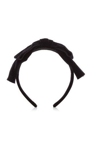 Velvet Bow Headband