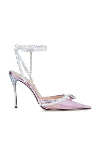 Diamond Of Elizabeth PVC High Heels