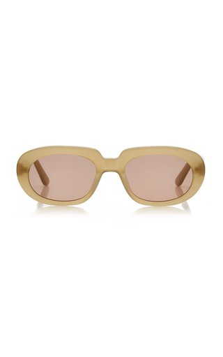 Riviera Round-Frame Acetate Sunglasses