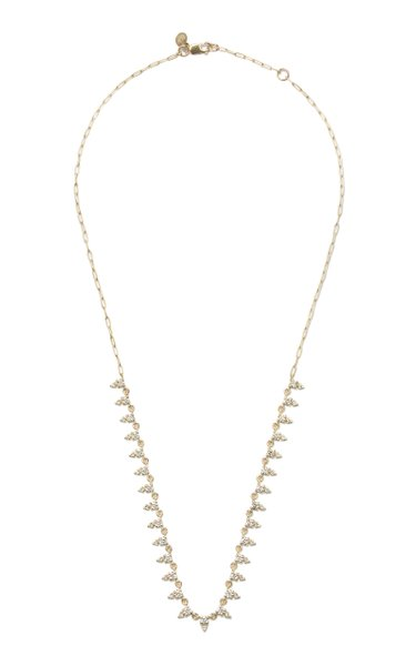 Deja 14K Yellow Gold Diamond Necklace