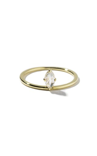 Pietro 14K Yellow Gold Diamond Ring