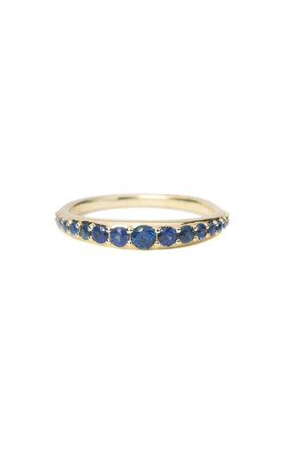 Bali Sapphire 14K Yellow Gold Ring