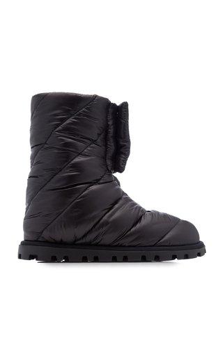 Puffy Nylon Boots