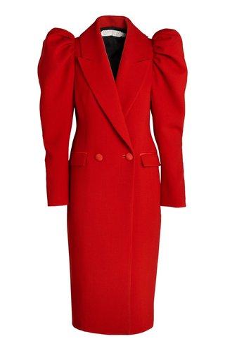 Cocoro Italian Double-Crepe Wool Coat