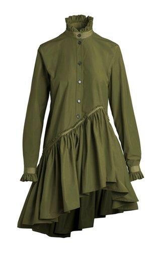 Robin Cotton-Faille Shirt Dress
