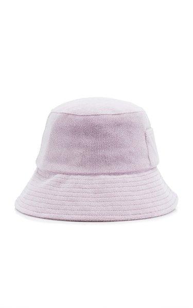 Wave Cotton Terry Bucket Hat