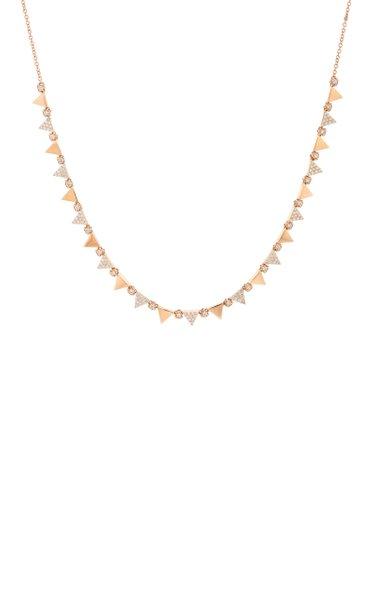 Elixir 18K Rose Gold Diamond Necklace