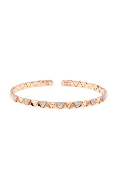 Eruption 18K Rose Gold Diamond Bracelet