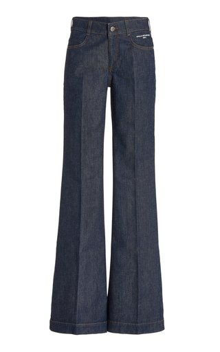The 70s Stretch Mid-Rise Flare-Leg Jeans