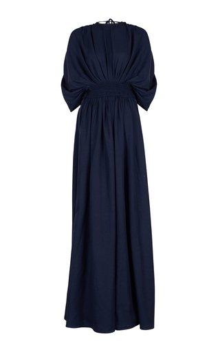 Lisa Handwoven Cotton Maxi Dress