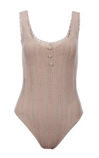 Carmen Cotton-Knit Bodysuit