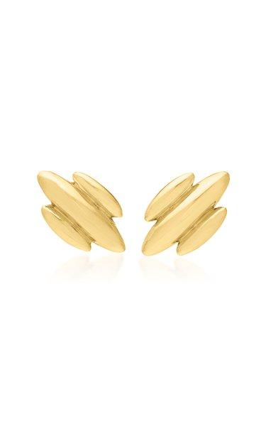 Droplet Jojo 18K Yellow Gold Earrings
