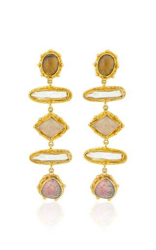Theodora Long Drop Earrings