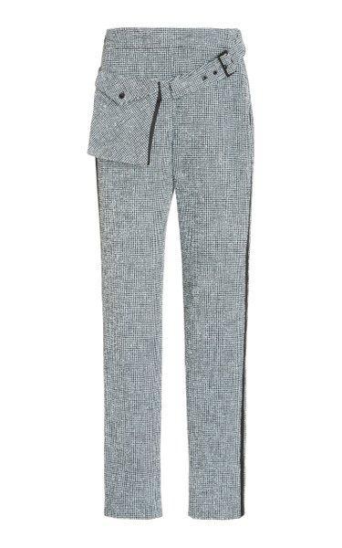 Michler Boucle Tweed Cigarette Pants