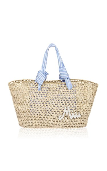 Crocheted Palm Tote Bag