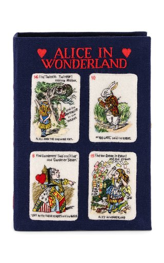 Alice's Cards Book Clutch