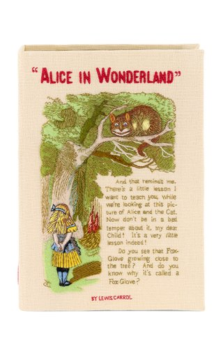 Alice And The Cat Book Clutch