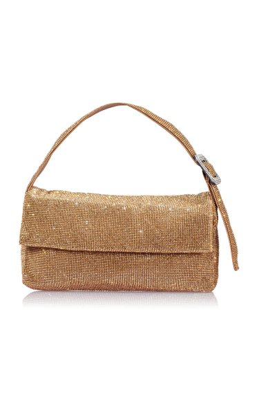 Vitty Grande Crystal-Embellished Shoulder Bag