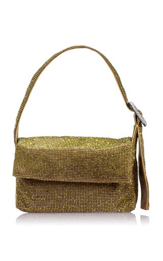 La Vitty Mignon Crystal Mesh Shoulder Bag