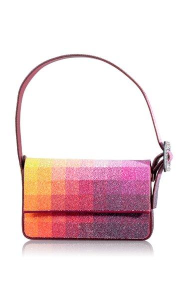 Vitty Mignon Crystal-Embellished Shoulder Bag