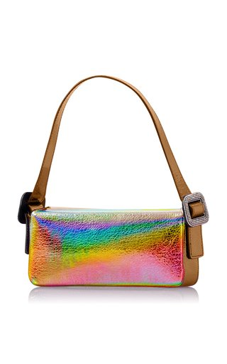 Little Fujiko Metallic Leather Shoulder Bag