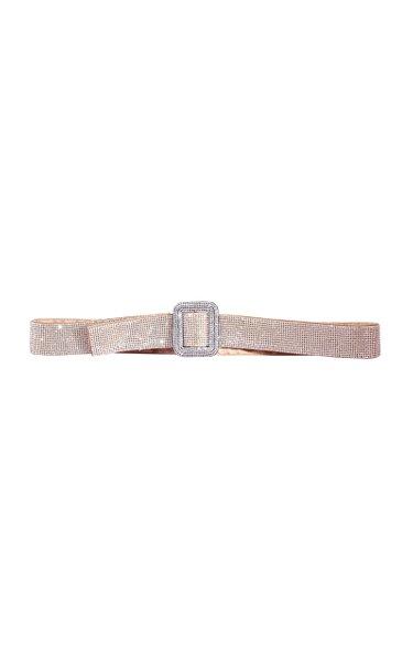 Venus Crystal-Embellished Waist Belt