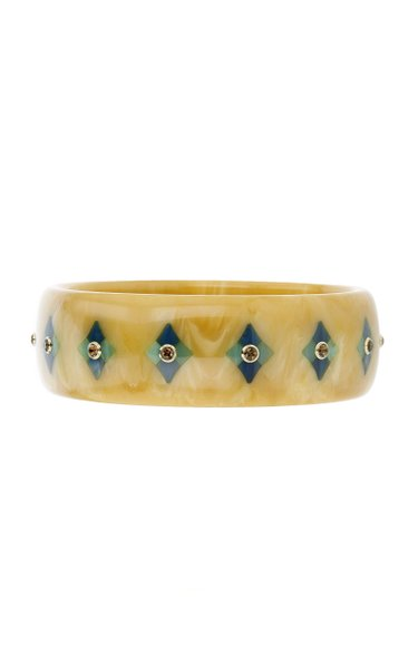 18K Yellow Gold Paige Vintage Bakelite Bracelet