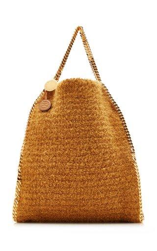 Maxi Falabella Knit Tote Bag