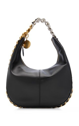 Small Chain Faux Leather Shoulder Bag