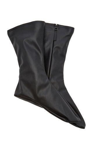 x Wolford Vegan Leather Socks