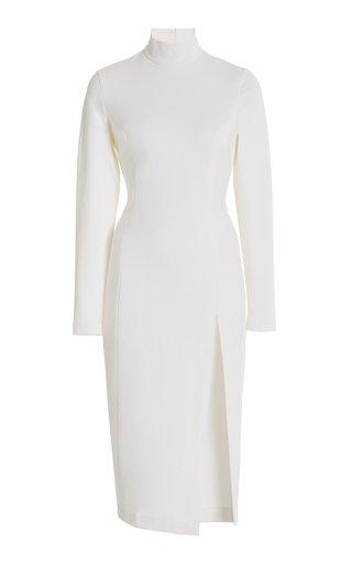 x Wolford Jersey Turtleneck Midi Dress