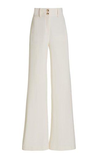 La Vega Wool-Crepe Wide-Leg Pants