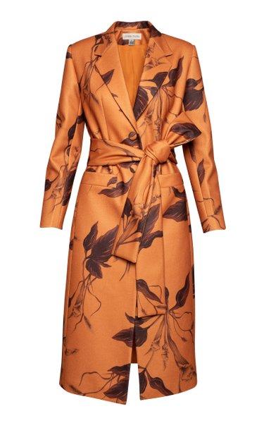Palma Seca Belted Twill Coat