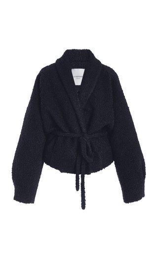 Shawl Collar Wool Jacket