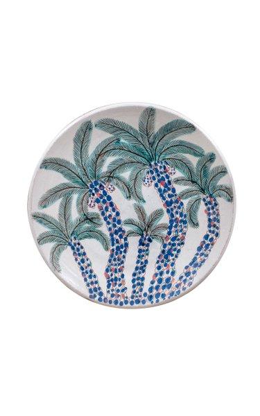 Cluster Of Palms Platter