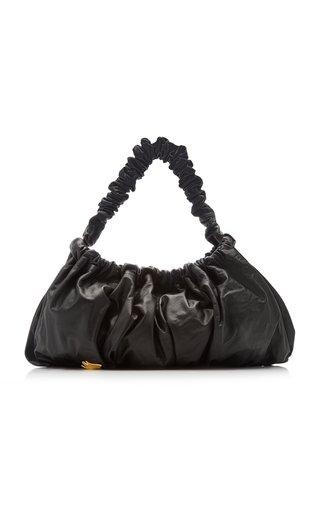 Exclusive XL Pierre Leather Shoulder Bag
