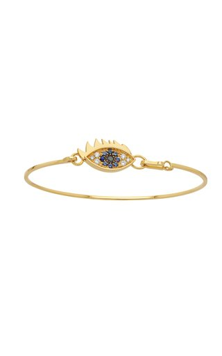 18K Yellow Gold Grandma Eye Bracelet