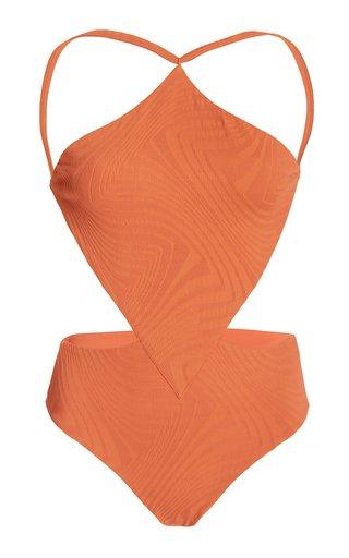 Sabath Cutout One-Piece Swimsuit