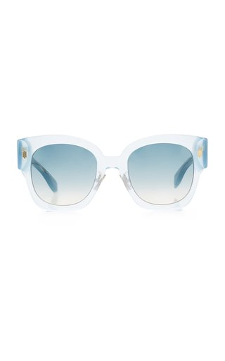 Roma Square-Frame Acetate Sunglasses