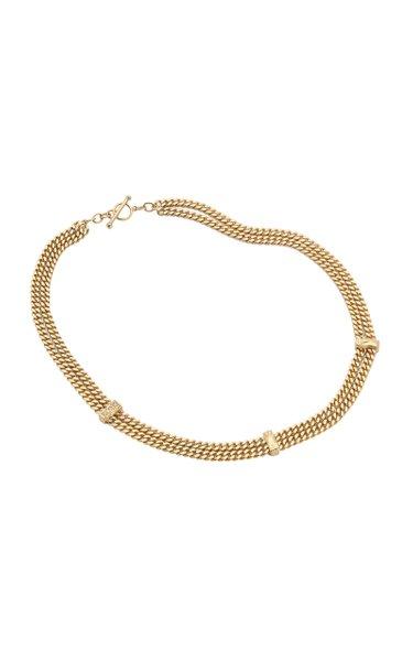 The Evoke 14K Gold Diamond Necklace