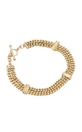 The Evoke 14K Gold Diamond Bracelet