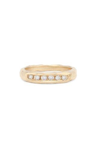 The Evoke 14K Gold Diamond Ring