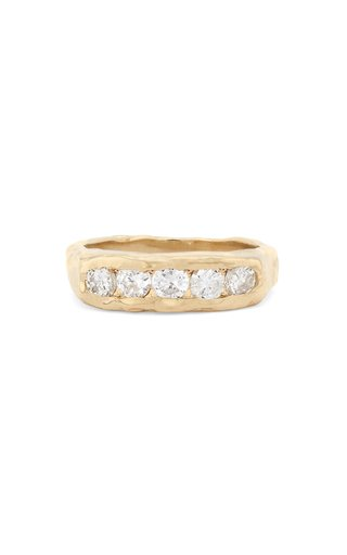 The Evoke 14K Gold Diamond Ring