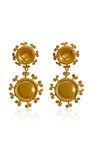 24K Gold-Plated Sue Doble Earrings