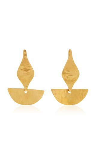 Paloma 24K Gold-Plated Earrings