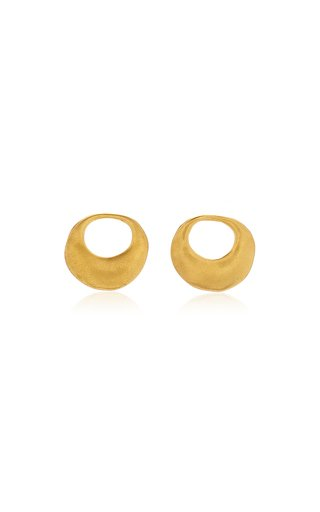 Nariguera Pequena 24K Gold-Plated Earrings