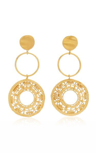 Sonso 24K Gold-Plated Earrings